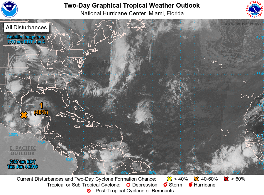 Tropical Depression May Form in Gulf
